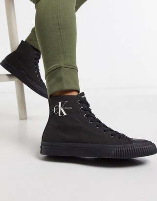 Calvin Klein Jeans Icaro canvas high top sneakers