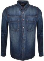 Nudie Jeans Sten Denim Shirt Blue