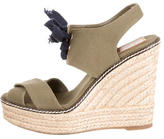 Tory Burch Woven Wedge Sandals