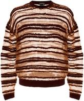 Ann Demeulemeester striped pattern jumper