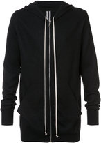 Rick Owens cashmere long length hoodie