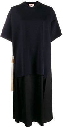 Plan C Short-Sleeve Oversized Dress