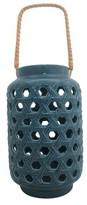 Threshold Ceramic Lantern - Blue (Large