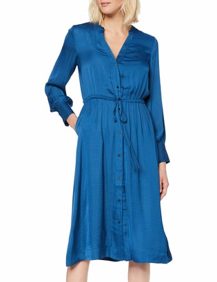 Scotch & Soda Maison Women's Midi Length Dress with Waist Cord