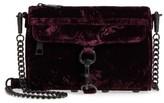 Rebecca Minkoff Mini MAC Velvet Convertible Crossbody Bag - Red