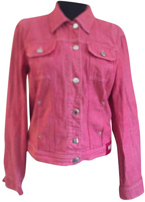 Moschino Pink Denim - Jeans Jackets