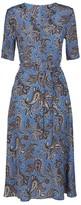 Max Mara Silk Paisley Campale Dress