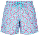Vilebrequin Repeating Turtle Print Swim Shorts