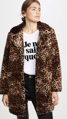MKT Studio Malori Leopard Coat