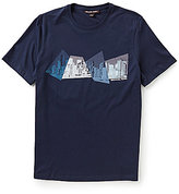 Michael Kors Geocity Graphic Short-Sleeve Tee