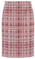 Carolina Herrera Tweed pencil skirt