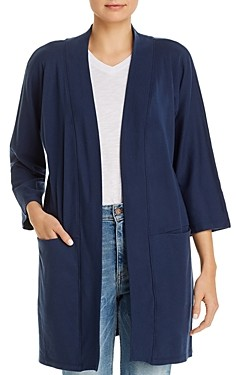 Three Dots Open-Front Cardigan