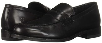 Frye Murray Penny (Black Washed Dip-Dye Leather) Men's Slip on Shoes