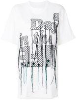 Sacai embroidered T-shirt
