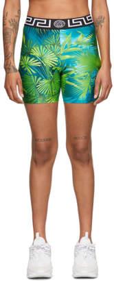 Versace Underwear Green Jungle Shorts