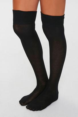 Forever 21 Over-the-Knee Socks - 2 Pack