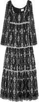 Erdem Deborah embroidered silk-organza gown