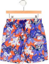 Vilebrequin Boys' Bird Print Swimming Shorts w/ Tags