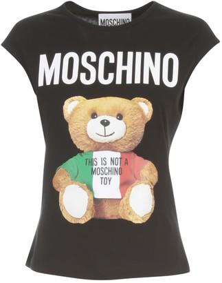 Moschino Crew Neck Sleeveless T-shirt