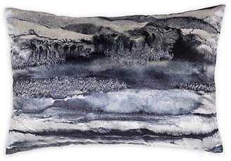 Callisto Home Home Dip-Dyed Velvet Lumbar Pillow