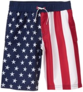Crazy 8 American Flag Swim Trunks
