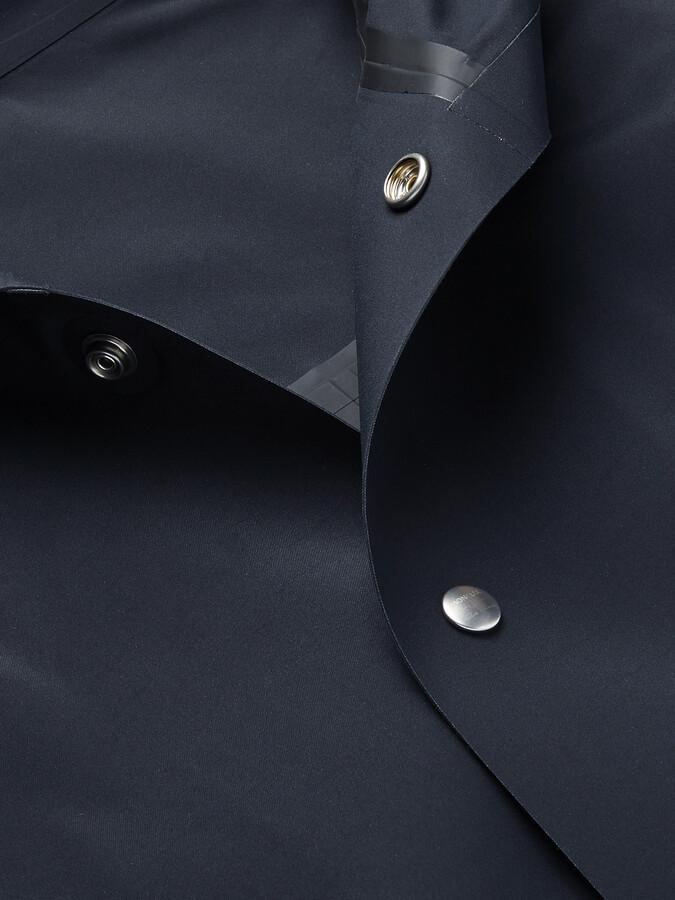 Thumbnail for your product : Rick Owens + Moncler Nesbitt Oversized Hooded Coated-Canvas Coat