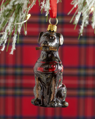 Joy To The World Collectibles Chocolate Lab Dog Christmas Ornament