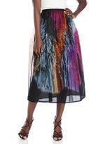 Maurizio Pecoraro Multicolor Silk Skirt