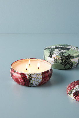 Voluspa Winter Japonica Three-Wick Candle Tin By in Red