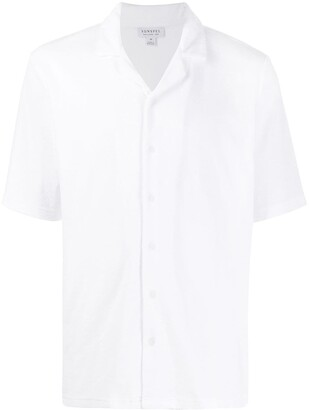 Sunspel Short-Sleeve Fitted Shirt