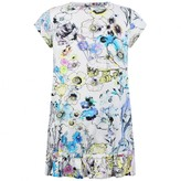 Roberto Cavalli Roberto CavalliGirls Floral Print Jersey Dress
