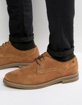 Base London Blake Suede Derby Shoes