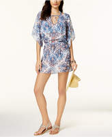 Becca Naples Cold Shoulder Tunic Cover-Up