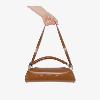 Venczel Brown Elan Leather Shoulder Bag