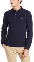 Lacoste Men's Long Sleeve Classic Pique Polo Shirt