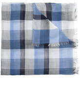 Cerruti checked scarf - men - Cotton/Modal/Viscose - One Size