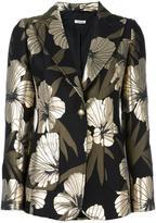 P.A.R.O.S.H. floral detail blazer