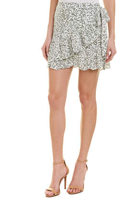 Aiden Printed Cape Mini Skirt