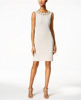 Ronni Nicole Embellished Sheath Dress