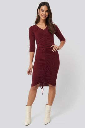 NA-KD Pull String Dress