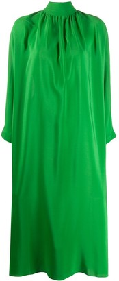 Gianluca Capannolo Endora high-neck chiffon dress