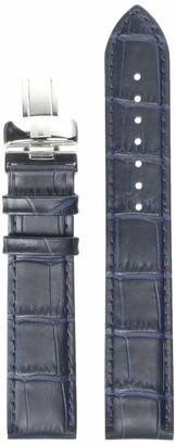Tissot Leather Calfskin Blue Watch Strap 19mm Width (Model: T600032781)