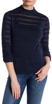 Shae Mock Neck Knit Sweater