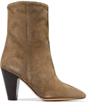 Isabel Marant Darilay Suede Ankle Boots
