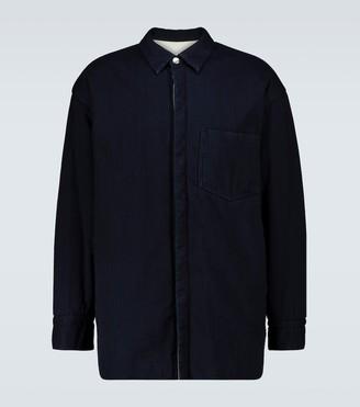 Jil Sander Padded overshirt jacket