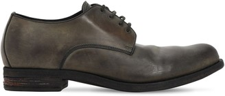 A Diciannoveventitre Handmade Leather Derby Shoes