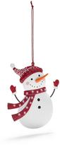 Sur La Table Snowman Ornament