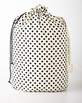 Kate Spade Black Dots Laundry Bag