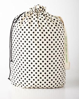 Kate Spade Black Dots Laundry Bag