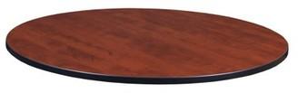 "Regency 48"" Round Laminate Table Top- Cherry/ Maple"